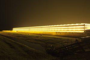 EternalLight. Foto: Kim Verkade (een van de deelnemende kunstenaars)